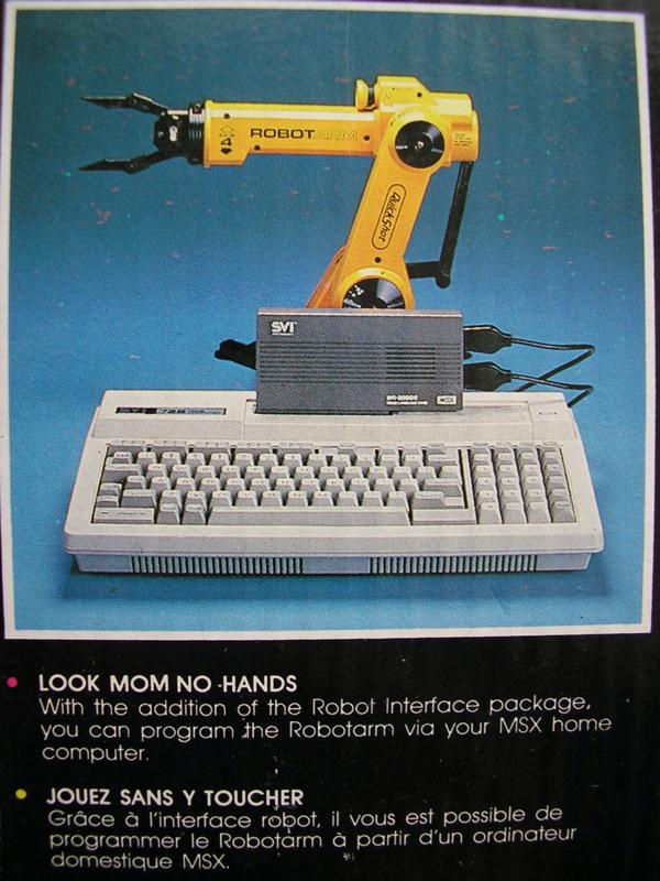 SVI 2000 připojený k MSX